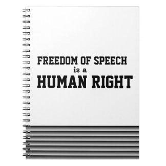 Cuaderno de la libertad de expresión