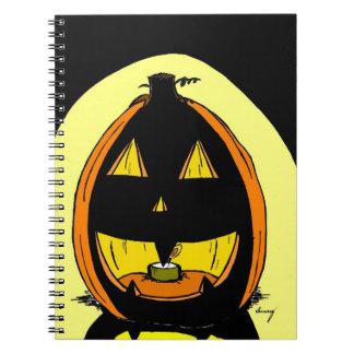 Cuaderno de la linterna del o de Jack