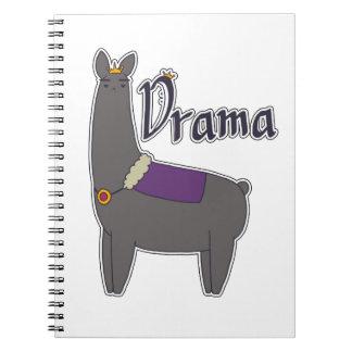Cuaderno de la llama del drama