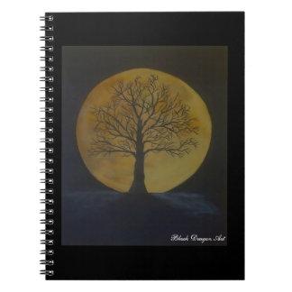 Cuaderno de la luna de cosecha