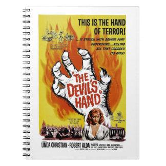 """Cuaderno """"de la mano del diablo"""""""