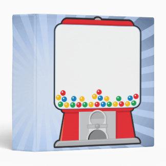 """Cuaderno de la máquina de Gumball Carpeta 1 1/2"""""""