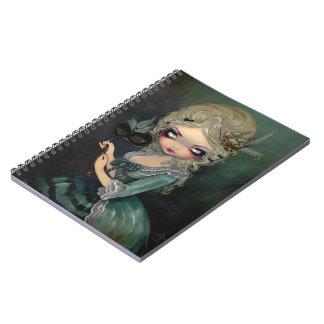 """""""Cuaderno de la mascarada de Marie"""" Libros De Apuntes Con Espiral"""
