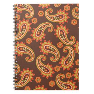 Cuaderno de la moda del placer de Paisley