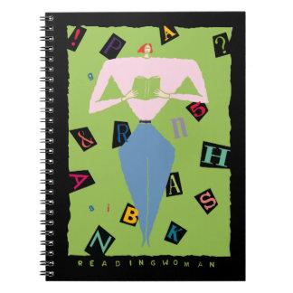 Cuaderno de la mujer de la lectura