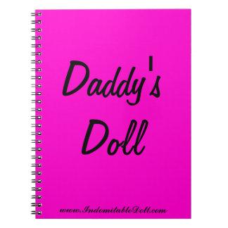 Cuaderno de la muñeca del papá