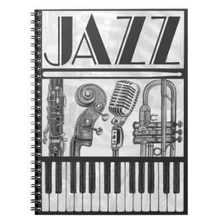 Cuaderno de la música de jazz