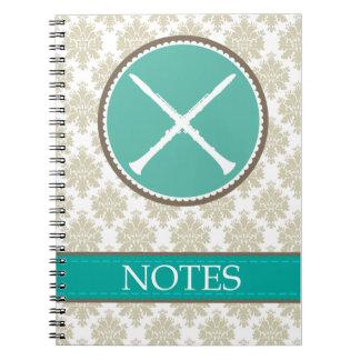 Cuaderno de la música del Clarinet