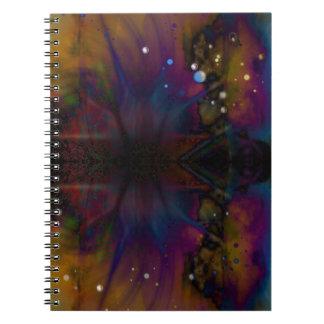 Cuaderno de la nebulosa de la araña