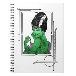 Cuaderno de la novia del art déco