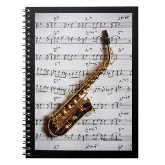 Cuaderno de la obra clásica del saxofón