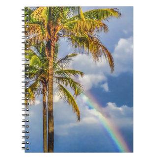 Cuaderno de la palma del arco iris