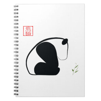 Cuaderno de la panda