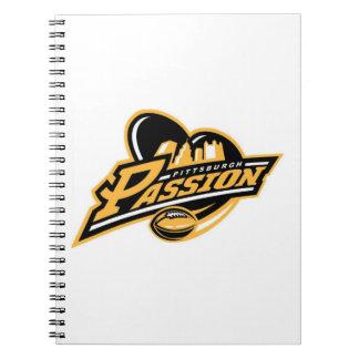 Cuaderno de la pasión de Pittsburgh