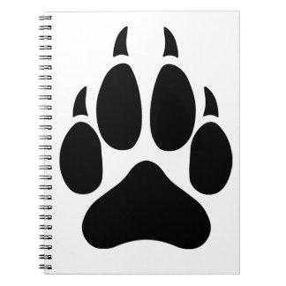 Cuaderno de la pata del lobo