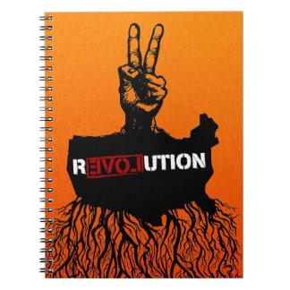 Cuaderno de la paz r3VOLution de Greassroots del a