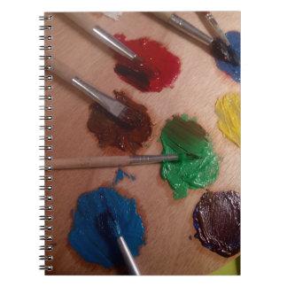 Cuaderno de la pintura