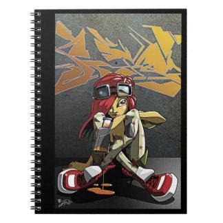 Cuaderno de la pintura de la pared