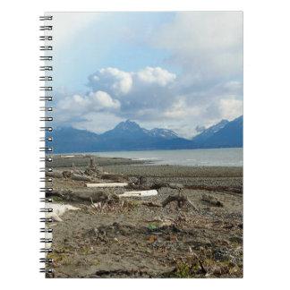 Cuaderno de la playa de Alaska del home run