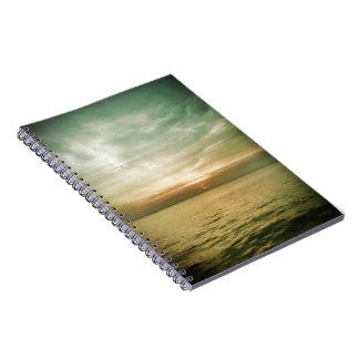 Cuaderno de la puesta del sol
