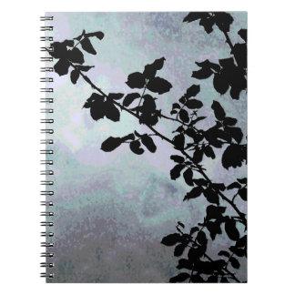 Cuaderno de la rama de árbol