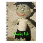 Cuaderno de la regla de los zombis