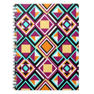 ¡Cuaderno de la repetición del modelo del edredón! Libro De Apuntes Con Espiral