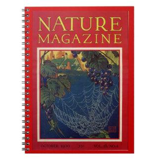 Cuaderno de la revista de la naturaleza