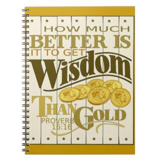 Cuaderno de la sabiduría