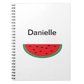 """Cuaderno de la """"sandía"""""""