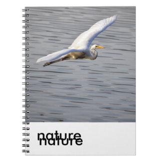 cuaderno de la serie de la naturaleza
