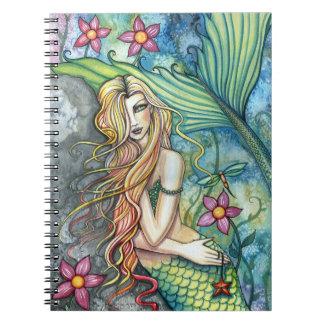 Cuaderno de la sirena del agua dulce