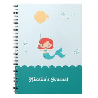 Cuaderno de la sirena