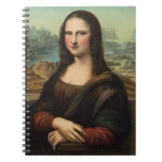 Cuaderno de la sonrisa de Mona Lisa