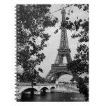 Cuaderno de la torre Eiffel