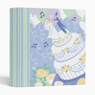 """Cuaderno de la torta de la celebración del boda carpeta 1"""""""