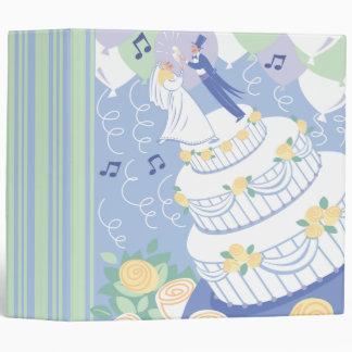 """Cuaderno de la torta de la celebración del boda carpeta 2"""""""