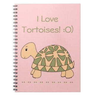 Cuaderno de la tortuga de la estrella de Stella (r
