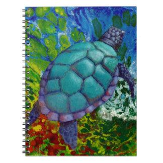 Cuaderno de la tortuga de mar