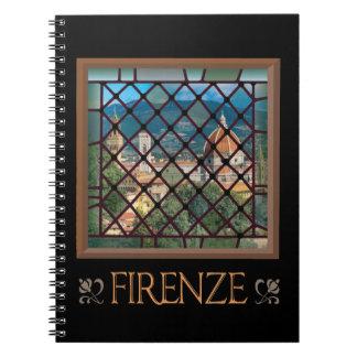 Cuaderno de la ventana del Duomo
