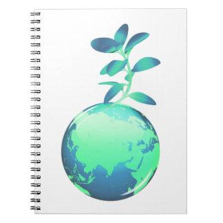 Cuaderno de la vida vegetal