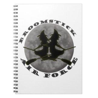 Cuaderno de las brujas de Halloween