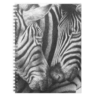 Cuaderno de las cebras