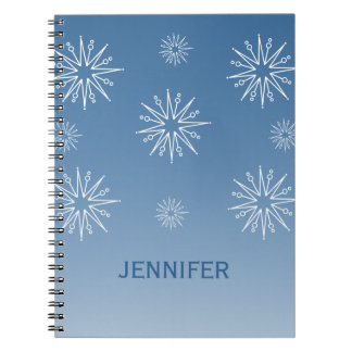 Cuaderno de las estrellas del navidad del deslumbr