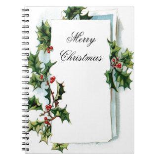 Cuaderno de las Felices Navidad