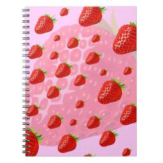Cuaderno de las fresas