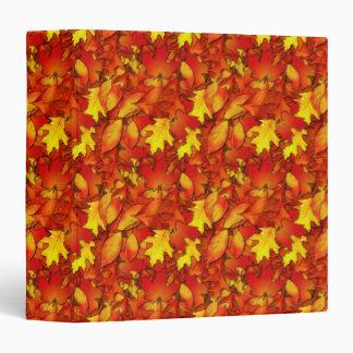 Cuaderno de las hojas de otoño