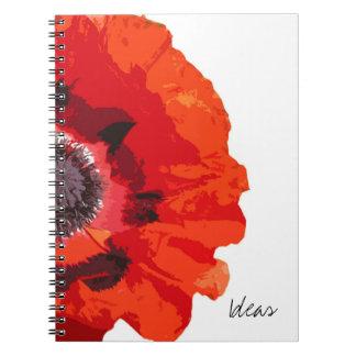 Cuaderno de las ideas de la amapola