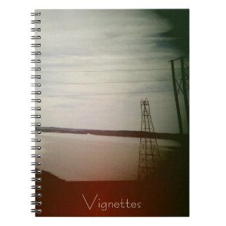 Cuaderno de las ilustraciones - vista al mar