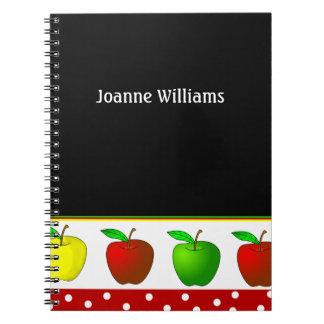 Cuaderno de las manzanas del profesor